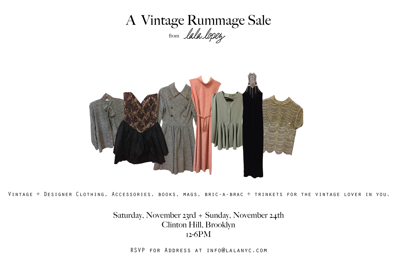 A Vintage Rummage Sale