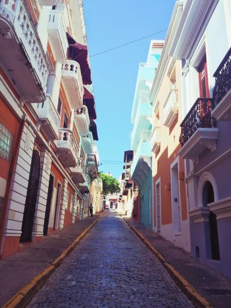 Viejo San Juan Uphill