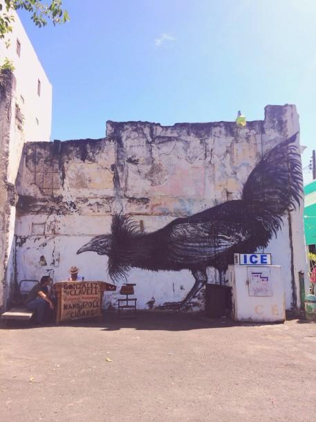 Mural by ROA
