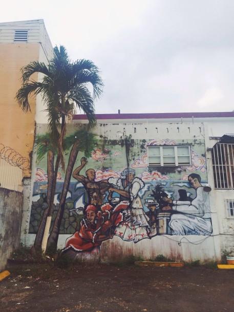 Bomba y Plena Mural, Santurce