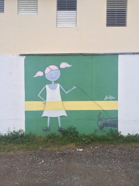 Little Girl in Santurce