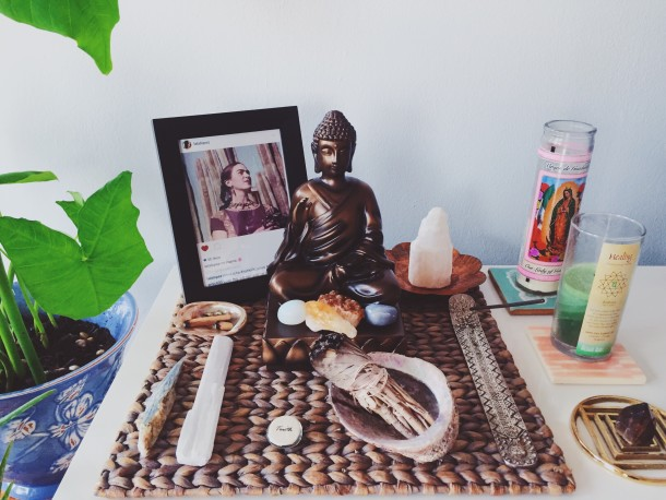 Create an Altar In Your Home
