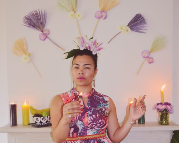 Frida in Magic || Frida: Digging Deeper - A Portrait Series by Lala Lopez