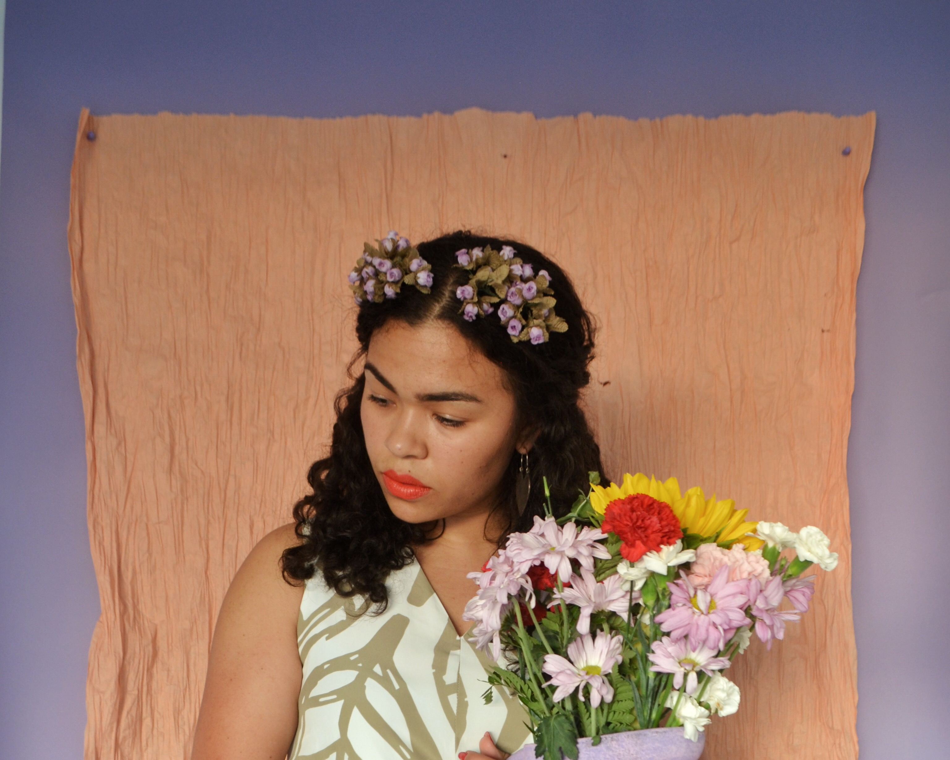 Frida: Digging Deeper - A Portrait Series by Lala Lopez